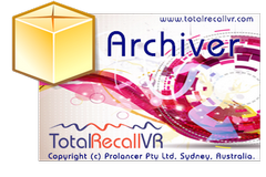 Total Recall VR Archiver Application